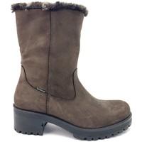 Chaussures Femme Bottes de neige Imac 409628 PIEL MARRON Bota media