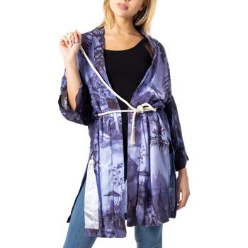 Vêtements Femme Gilets / Cardigans Desigual 20SWEWB0 violet