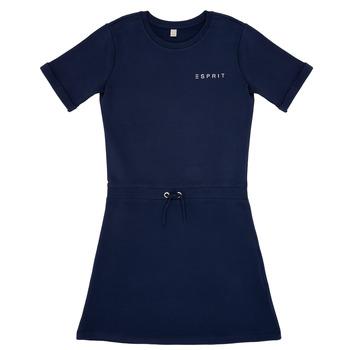 Vêtements Fille Robes courtes Esprit EDEN Marine