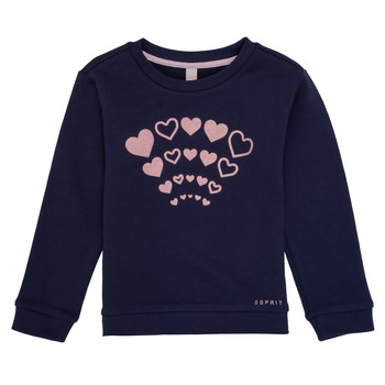 Vêtements Fille Sweats Esprit ESTER Marine