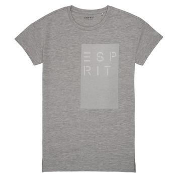 Vêtements Fille T-shirts manches courtes Esprit EVELYNE Gris
