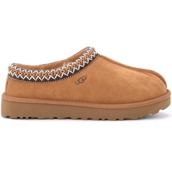 Chaussures Homme Chaussons UGG Ciabatta Ugg Tasman da uomo in pelle scamosciata chestnut Brun