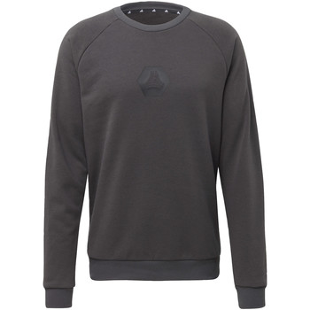 Vêtements Homme Pulls adidas Originals Sweat-shirt TAN Crew Logo gris