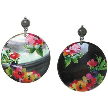 Montres & Bijoux Femme Boucles d'oreilles Franck Herval Boucles d'oreilles  collection 'Floral' 12--61736 594