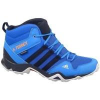 Chaussures Enfant Randonnée adidas Originals Terrex AX2R Mid CP Turquoise,Bleu