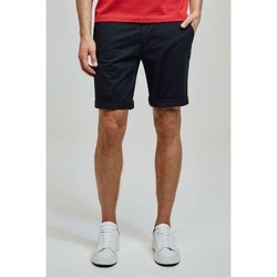 Vêtements Homme Shorts / Bermudas Kebello Short en chino H Noir Noir