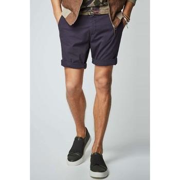Vêtements Homme Shorts / Bermudas Kebello Short en chino H Marine Marine
