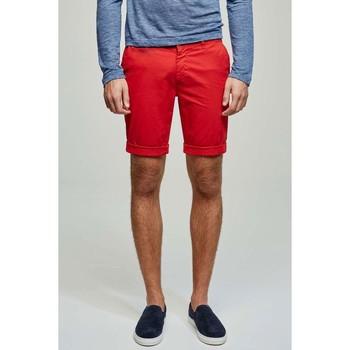 Vêtements Homme Shorts / Bermudas Kebello Short en chino H Rouge Rouge