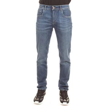 Vêtements Homme Jeans droit Camouflage D00 A320 bleu