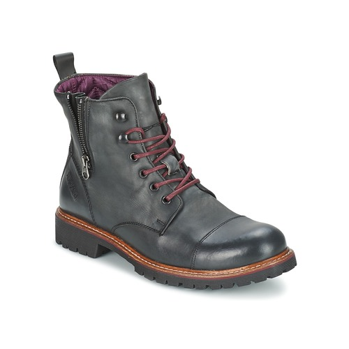 Chaussures Homme Boots Bunker WORK JOB Gris
