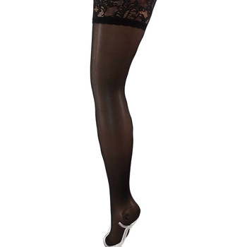 Sous-vêtements Femme Collants & bas Bec Collection Bas top Jarretière  15D Noir