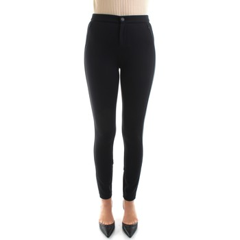 Vêtements Femme Chinos / Carrots Tommy Hilfiger WW0WW01345 Noir