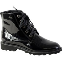Chaussures Femme Bottines The Divine Factory Boot Noir