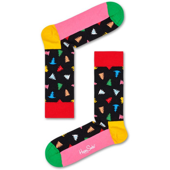 Accessoires textile Chaussettes Happy Socks Trees and trees sock Multicolore