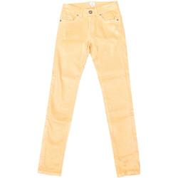 Vêtements Femme Jeans droit La Martina Pantalon stretch Jaune
