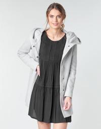 Vêtements Femme Manteaux Moony Mood ADELINE Gris Clair