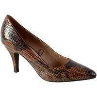 Chaussures Femme Escarpins The Divine Factory QL3804 Marron