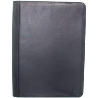 Sacs Porte-Documents / Serviettes Hexagona Conférencier  en cuir ref_33928 Marine 27*36*4 bleu