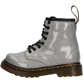 Chaussures Enfant Boots Dr Martens - Anfibio argento 1460 GLITTER ARGENTO