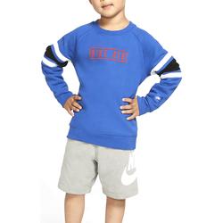 Vêtements Garçon Sweats Nike - Felpa azzurro 86F292-U89 AZZURRO