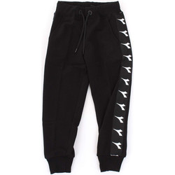 Vêtements Garçon Pantalons de survêtement Diadora - Pantalone nero 021345-110 NERO