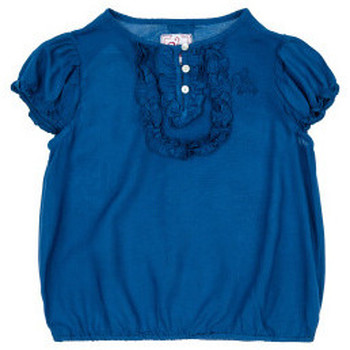 Vêtements Fille Tops / Blouses Miss Girly Tunique FIFLEUR marine