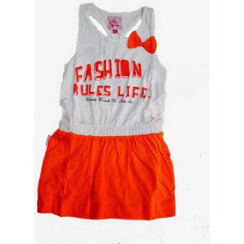 Vêtements Fille Robes courtes Miss Girly FRULES orange