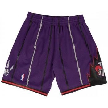 Vêtements Homme Shorts / Bermudas Les Iles Wallis et Futuna Short NBA Toronto Raptors 1998 Multicolore
