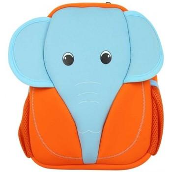 Sacs Enfant Sacs à dos Maskot Grand sac à dos enfant  Boykot éléphant Orange Bleu Multicolor