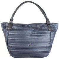 Sacs Femme Cabas / Sacs shopping Patrick Blanc Grand sac cabas  April motif plissé marine Multicolor