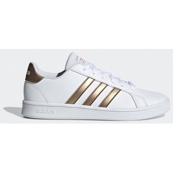 Chaussures Femme Baskets basses adidas Originals Grand Court K - blanc