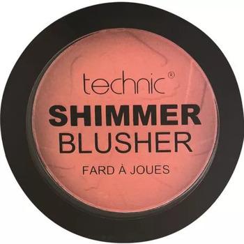 Beauté Femme Blush & poudres Technic Shimmer Blusher   Coral Bay   11g Autres