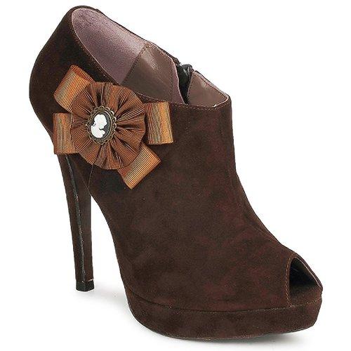 Chaussures Femme Low boots Fericelli ASSETE Marron