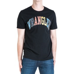 Vêtements Homme T-shirts manches courtes Wrangler T-shirt  Rainbow multicolore