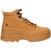 Chaussures Femme Baskets montantes MTNG 69649 Marron