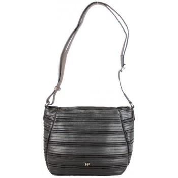 Sacs Femme Sacs Bandoulière Patrick Blanc Sac bandoulière  April motif plissé noir Multicolor