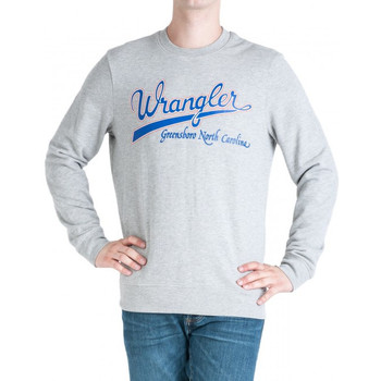 Vêtements Homme Sweats Wrangler Sweatshirt  Logo gris/bleu/orange