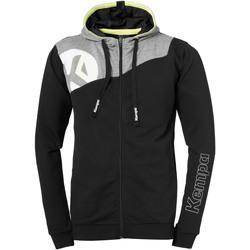 Vêtements Homme Vestes de survêtement Kempa Veste à capuche  Core 2.0 noir