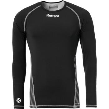 Vêtements T-shirts manches longues Kempa Maillot de compression ML  Attitude noir
