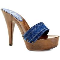 Chaussures Femme Mules Kiara Shoes K9201 Denim
