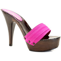 Chaussures Femme Mules Kiara Shoes K9201 Fuxia