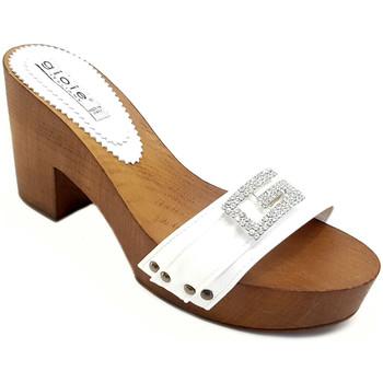Chaussures Femme Mules Gioie Italiane G5505 Blanc