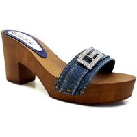 Chaussures Femme Mules Gioie Italiane G5505 Denim