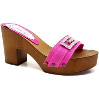 Chaussures Femme Mules Gioie Italiane G5505 Fuxia