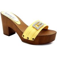 Chaussures Femme Mules Gioie Italiane G5505 Jaune