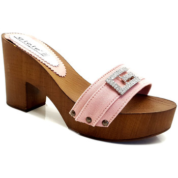 Chaussures Femme Mules Gioie Italiane G5505 Rose