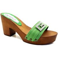 Chaussures Femme Mules Gioie Italiane G5505 Vert
