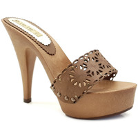 Chaussures Femme Mules Gioie Italiane G93401 Marron