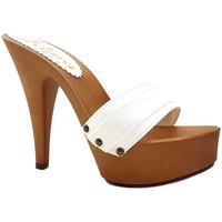 Chaussures Femme Mules Kiara Shoes K9301 Blanc