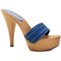 Chaussures Femme Mules Kiara Shoes K9301 Denim
